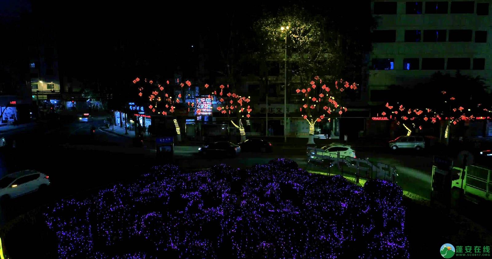 临近春节的蓬安夜色 - 第9张  | 蓬安在线