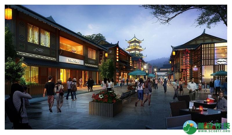 蓬安爱情小镇整体方案预览 - 第10张  | 蓬安在线