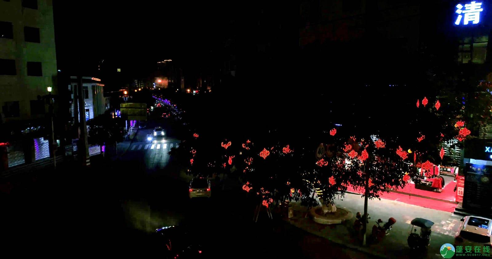 临近春节的蓬安夜色 - 第10张  | 蓬安在线