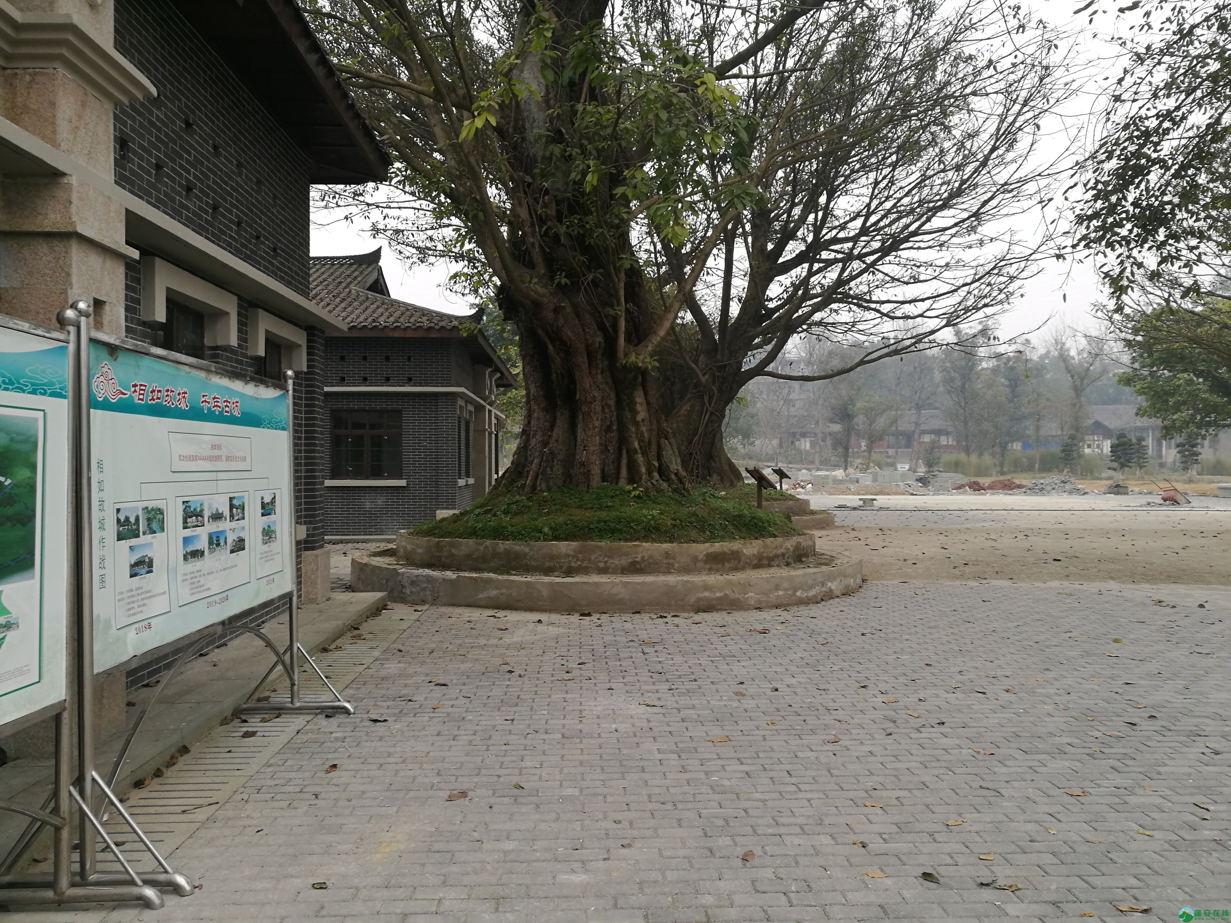 四川蓬安县锦屏相如故城复原进展(2019年1月25日) - 第9张  | 蓬安在线