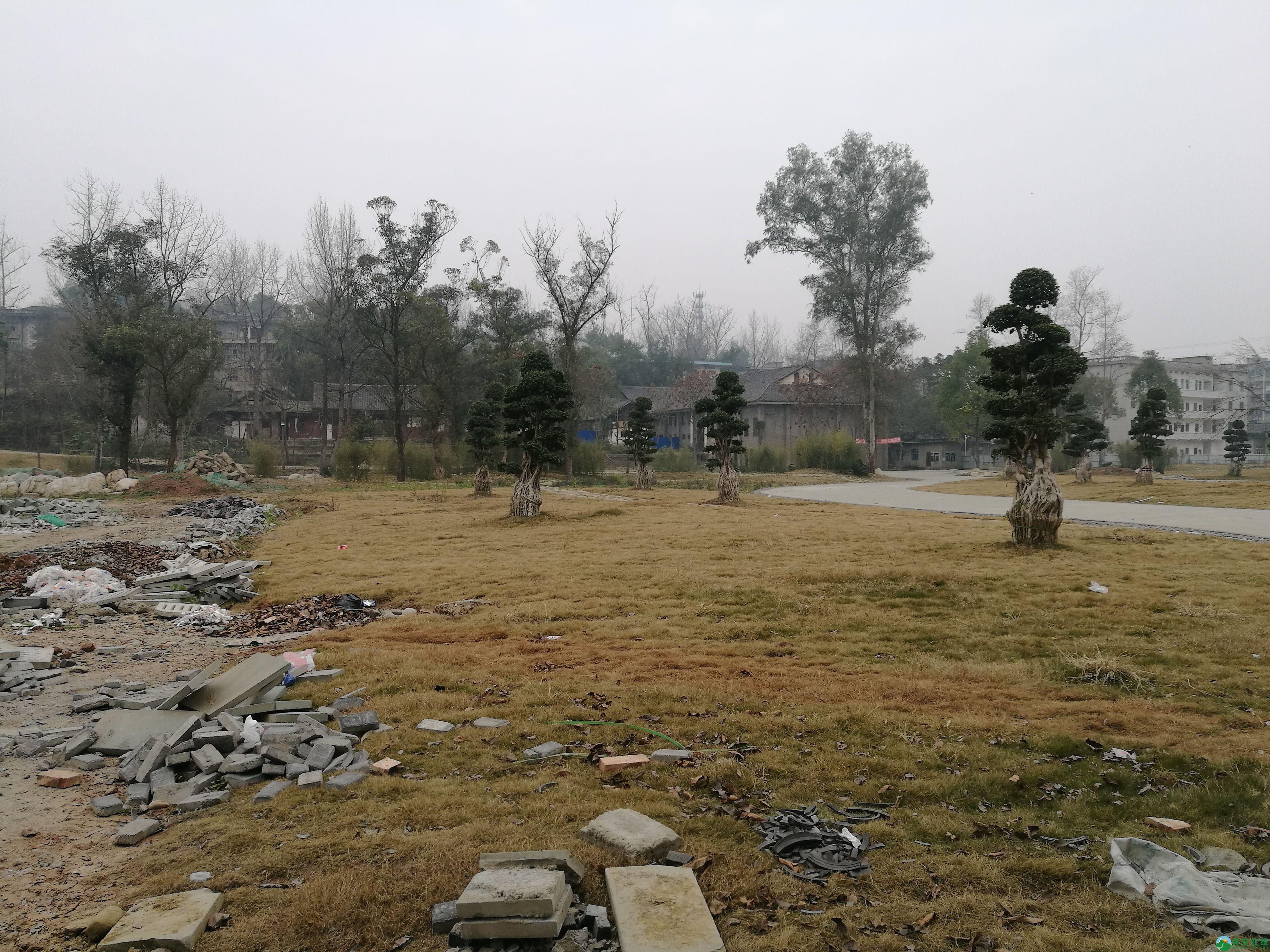 四川蓬安县锦屏相如故城复原进展(2019年1月25日) - 第18张  | 蓬安在线