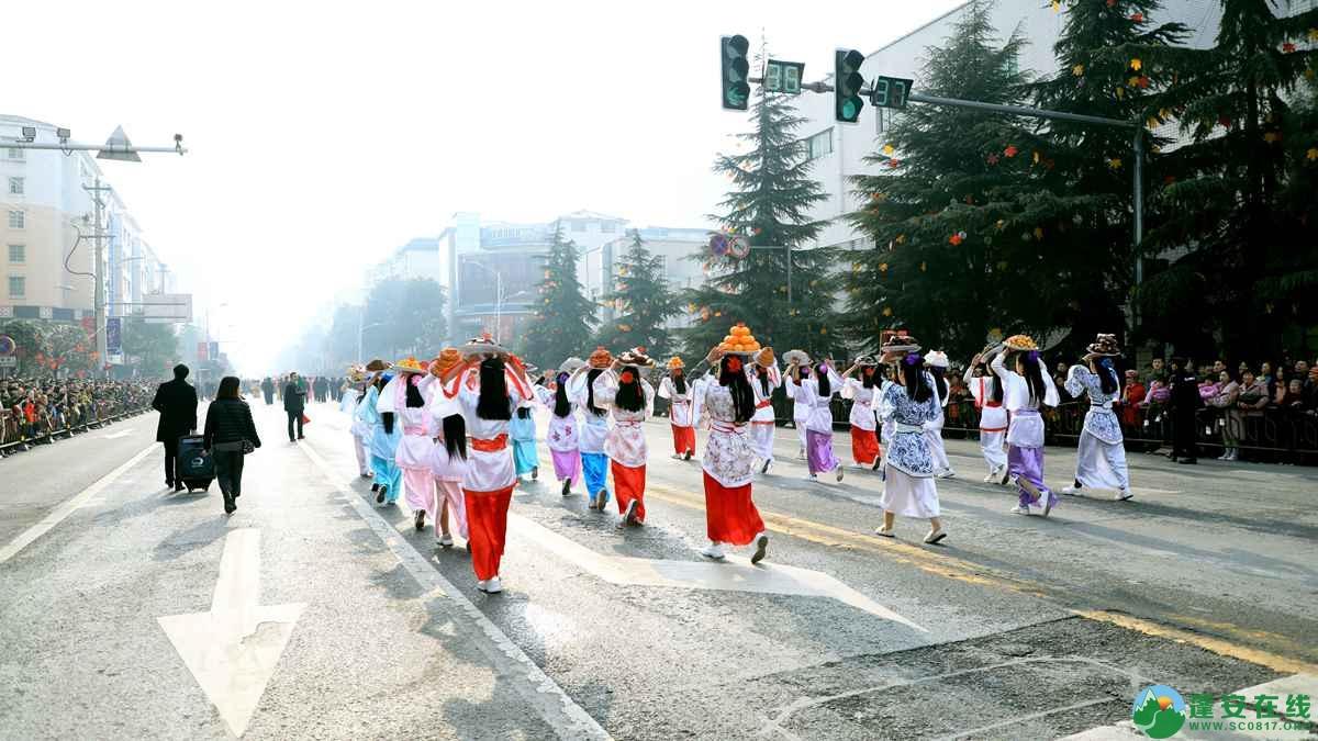 蓬安县2019年迎新春民间民俗街头文艺巡演精彩片段 - 第17张  | 蓬安在线