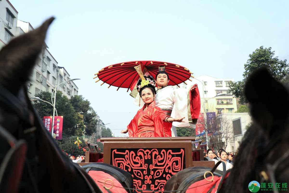 蓬安县2019年迎新春民间民俗街头文艺巡演精彩片段 - 第21张  | 蓬安在线