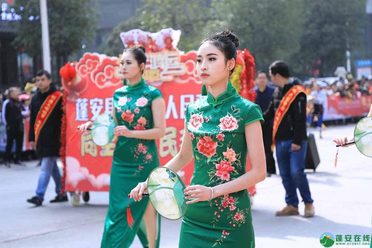 蓬安县2019年迎新春民间民俗街头文艺巡演精彩片段 - 第27张  | 蓬安在线
