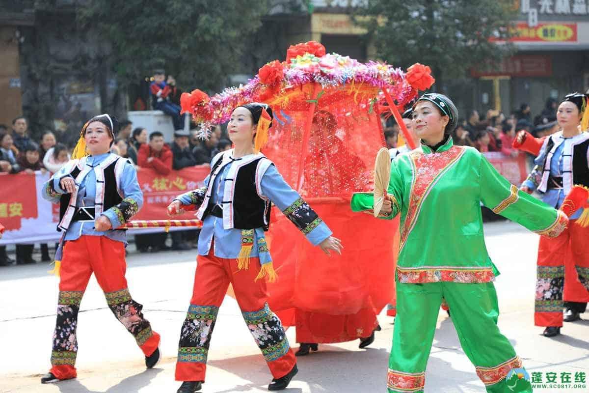 蓬安县2019年迎新春民间民俗街头文艺巡演精彩片段 - 第30张  | 蓬安在线