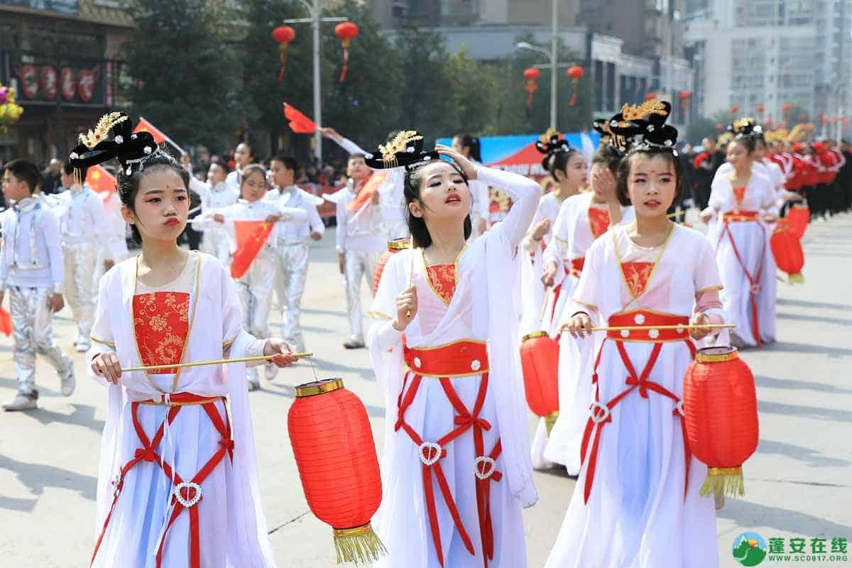 蓬安县2019年迎新春民间民俗街头文艺巡演精彩片段 - 第32张  | 蓬安在线