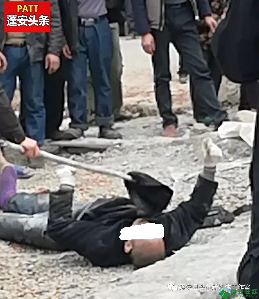2019年3月3日蓬安石孔乡姚家沟村一男子死在水泥搅拌机上面 - 第3张  | 蓬安在线