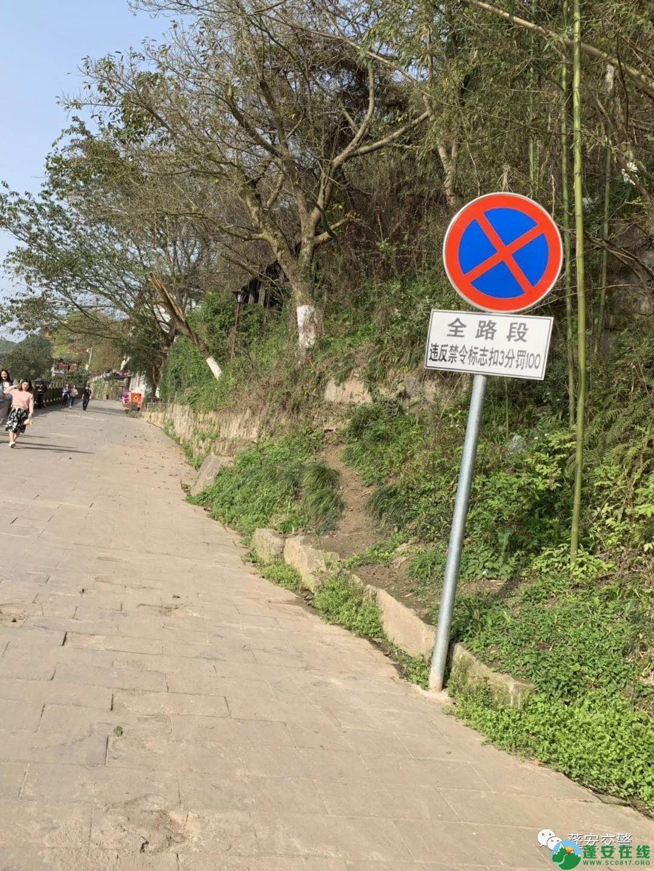 蓬安嘉陵第一桑梓景区和周子古镇这几条街全面实施禁止停车 - 第3张  | 蓬安在线