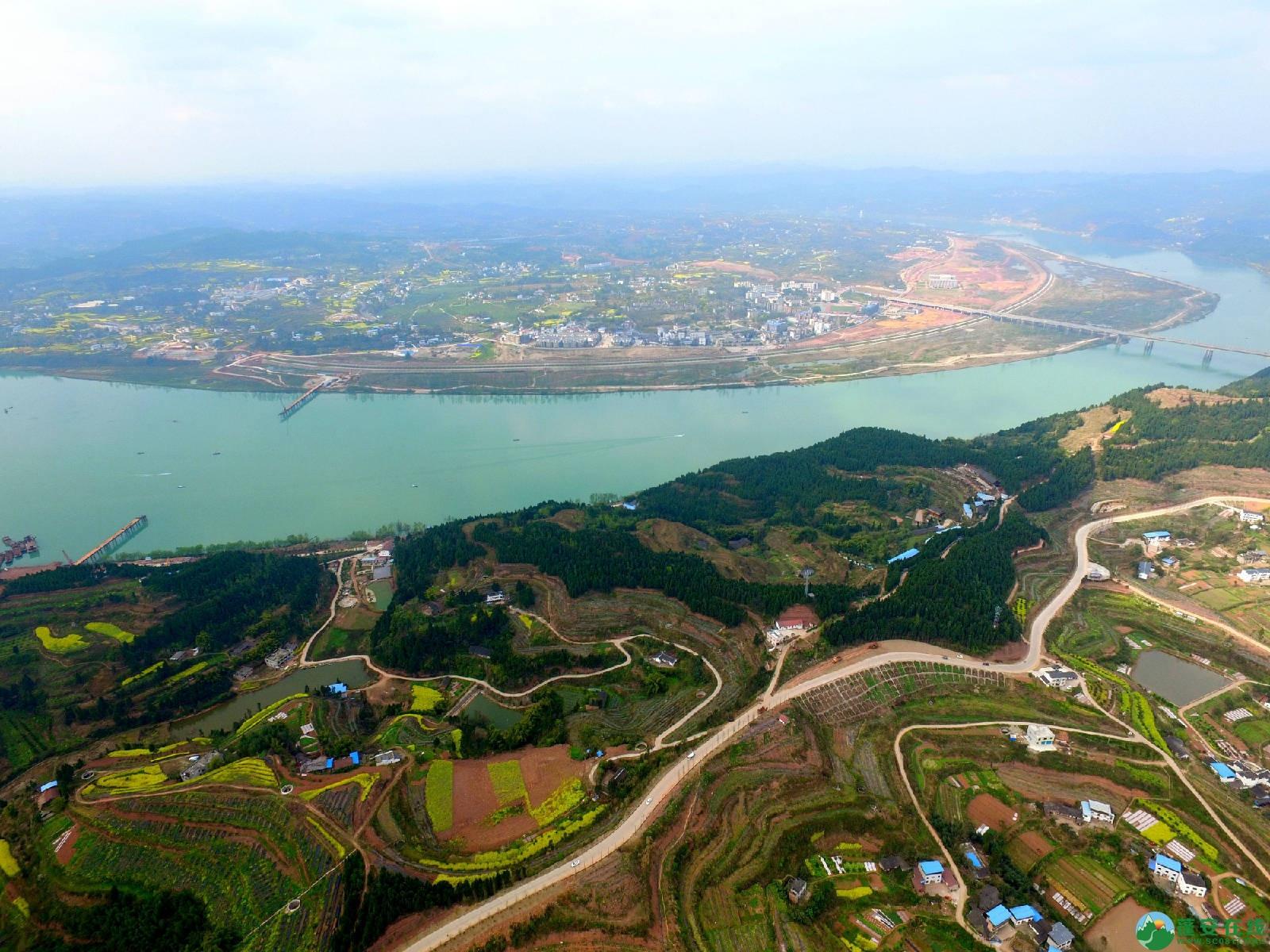 蓬安嘉陵江三桥新进展(2019.3.18) - 第6张  | 蓬安在线