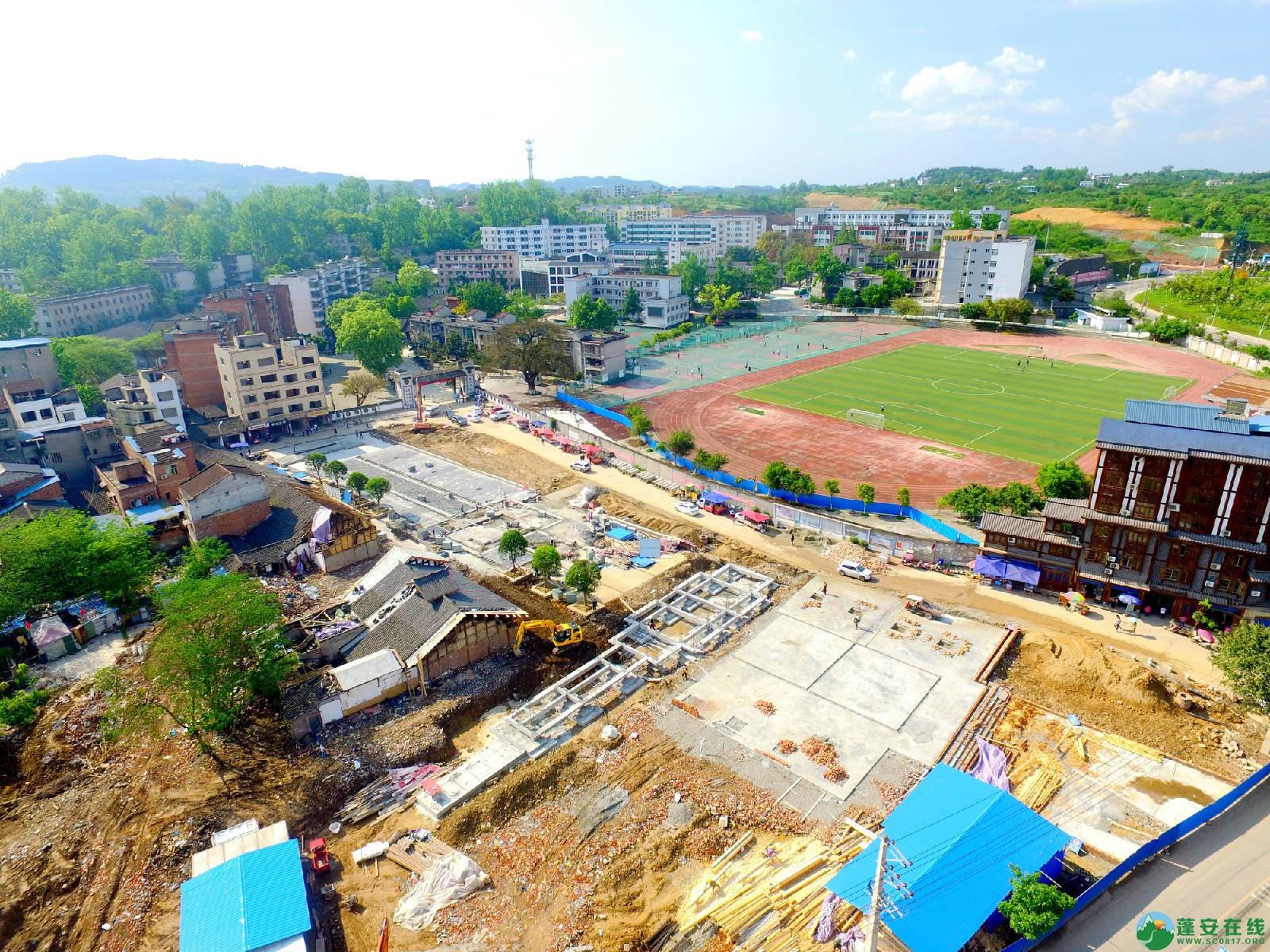 蓬安县相如故城建设进展!(2019年4月21) - 第8张  | 蓬安在线