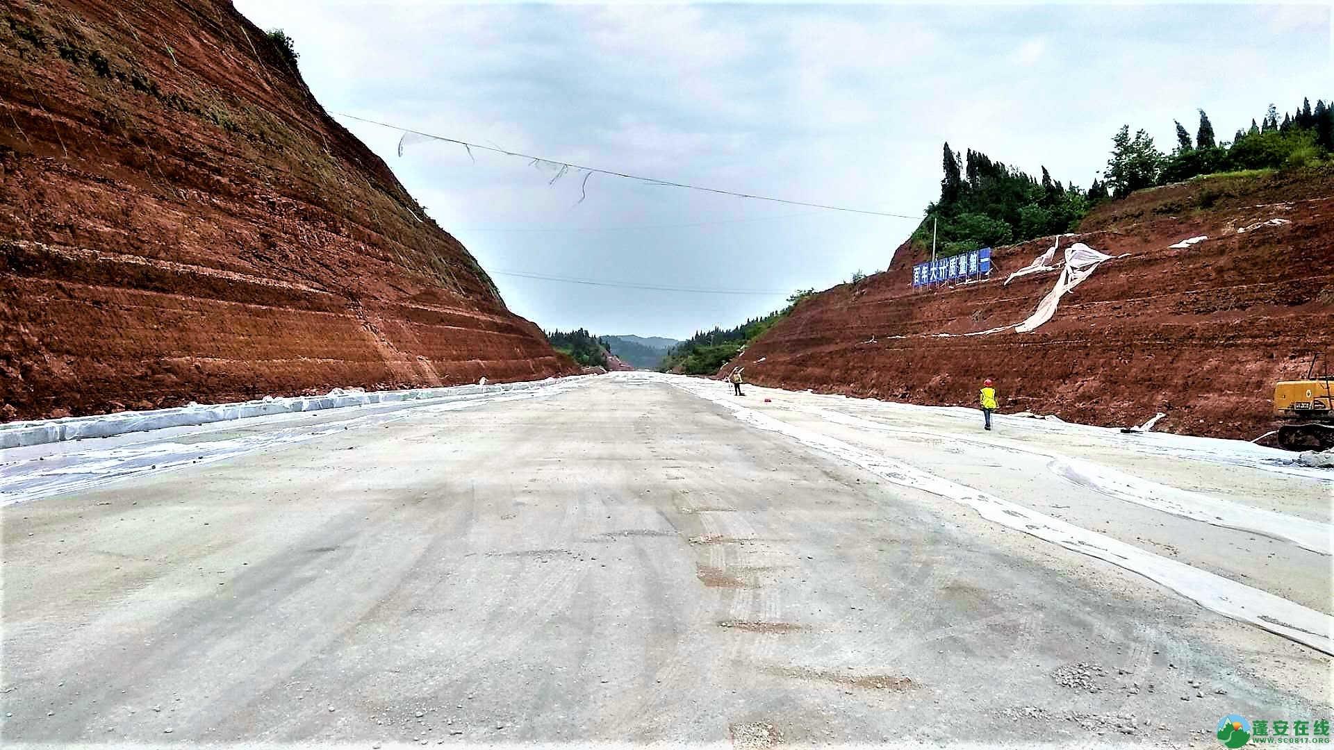 顺蓬营一级公路蓬安段最新进展(2019年05月28日) - 第2张  | 蓬安在线