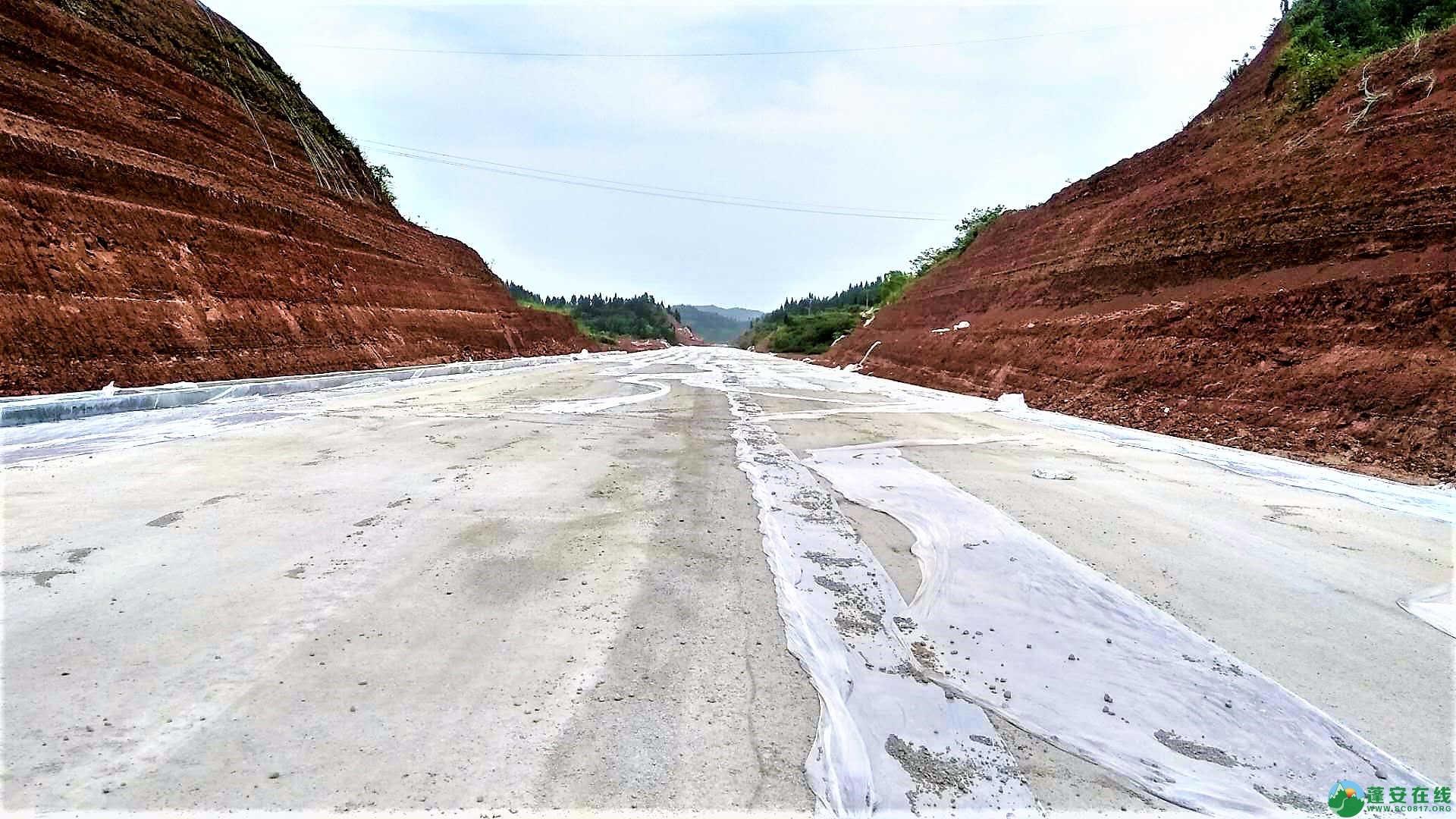 顺蓬营一级公路蓬安段最新进展(2019年05月28日) - 第5张  | 蓬安在线