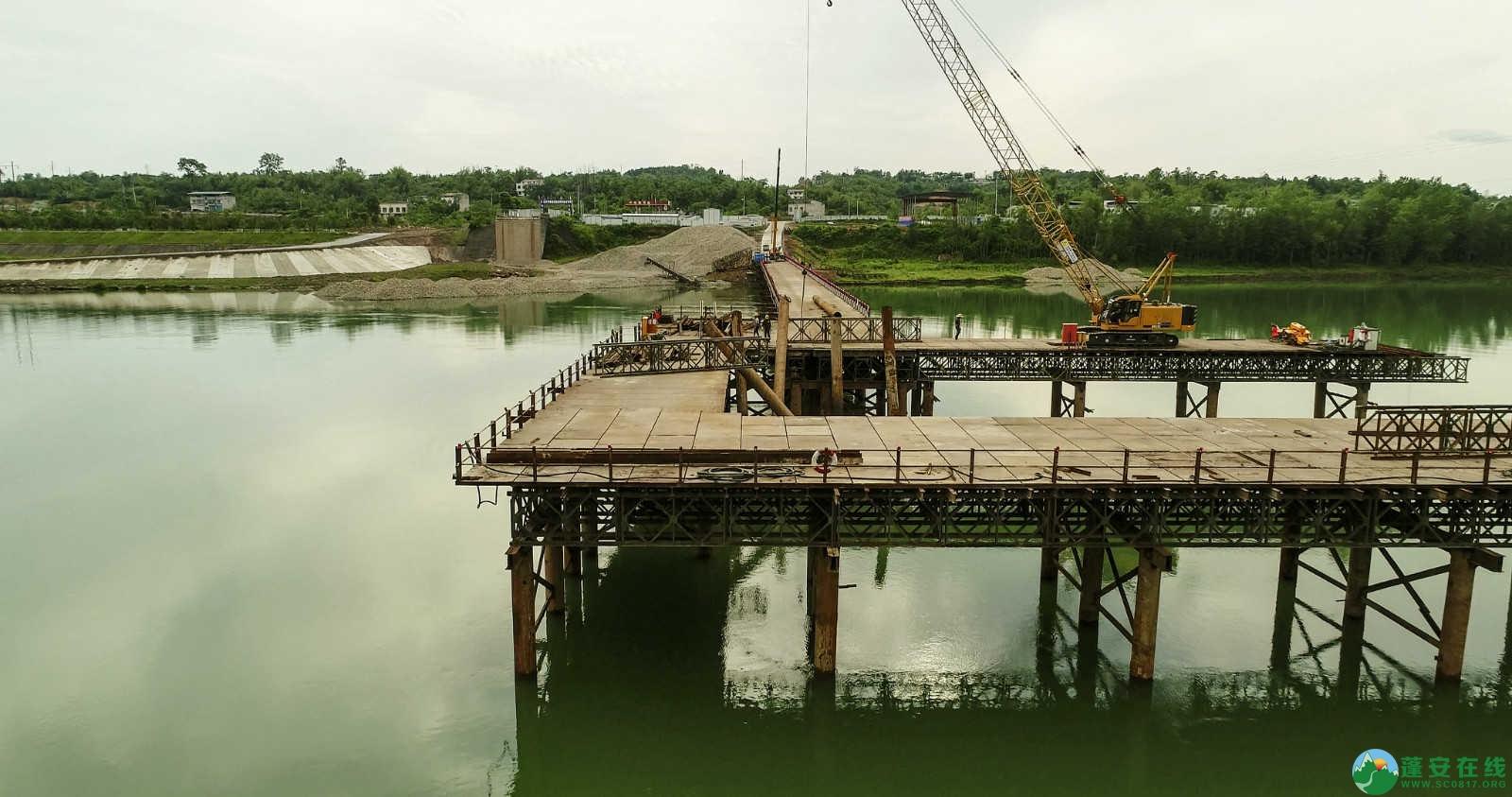 蓬安嘉陵江一桥修建进(2019年5月11日) - 第6张  | 蓬安在线