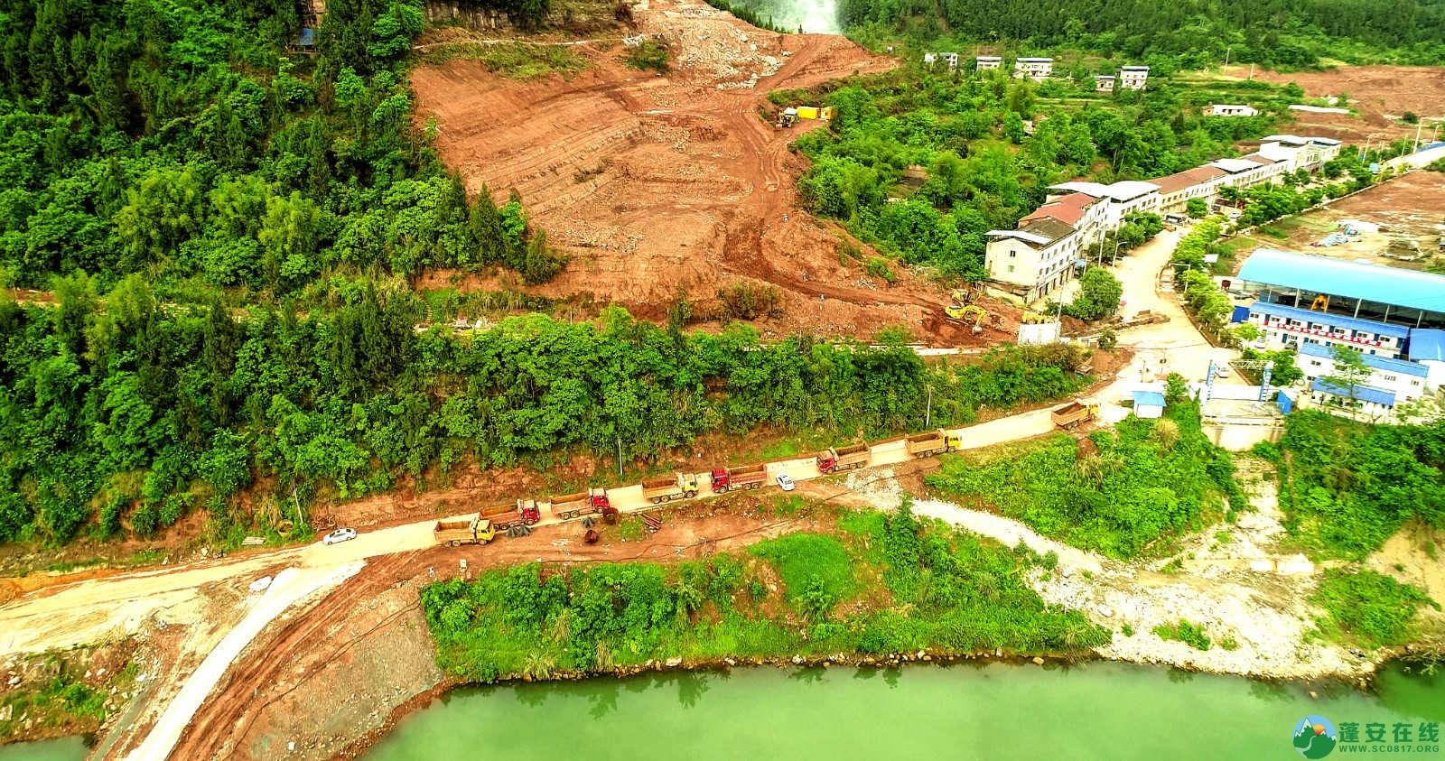 蓬安嘉陵江一桥修建进(2019年5月11日) - 第8张  | 蓬安在线
