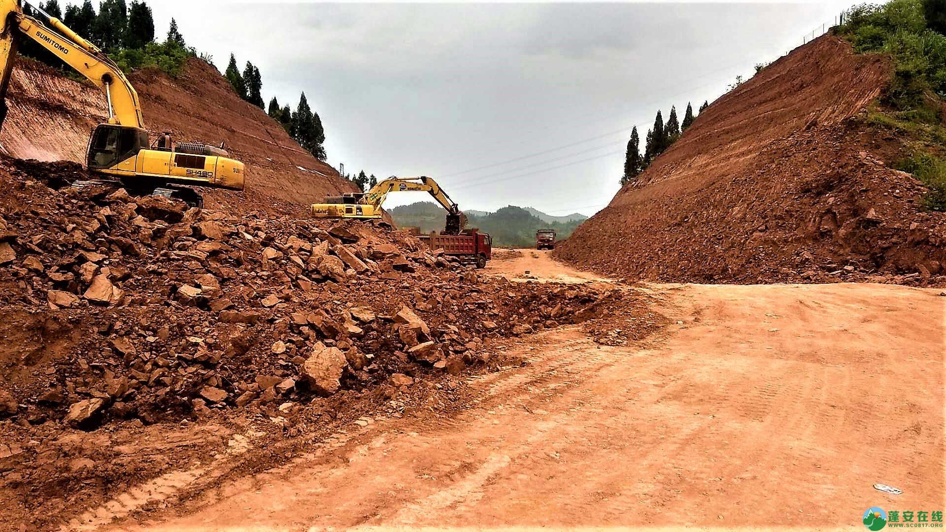 顺蓬营一级公路蓬安段最新进展(2019年05月28日) - 第13张  | 蓬安在线