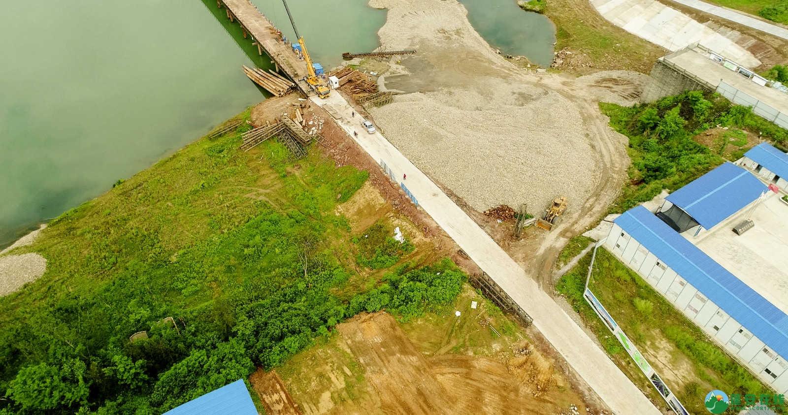 蓬安嘉陵江一桥修建进(2019年5月11日) - 第14张  | 蓬安在线