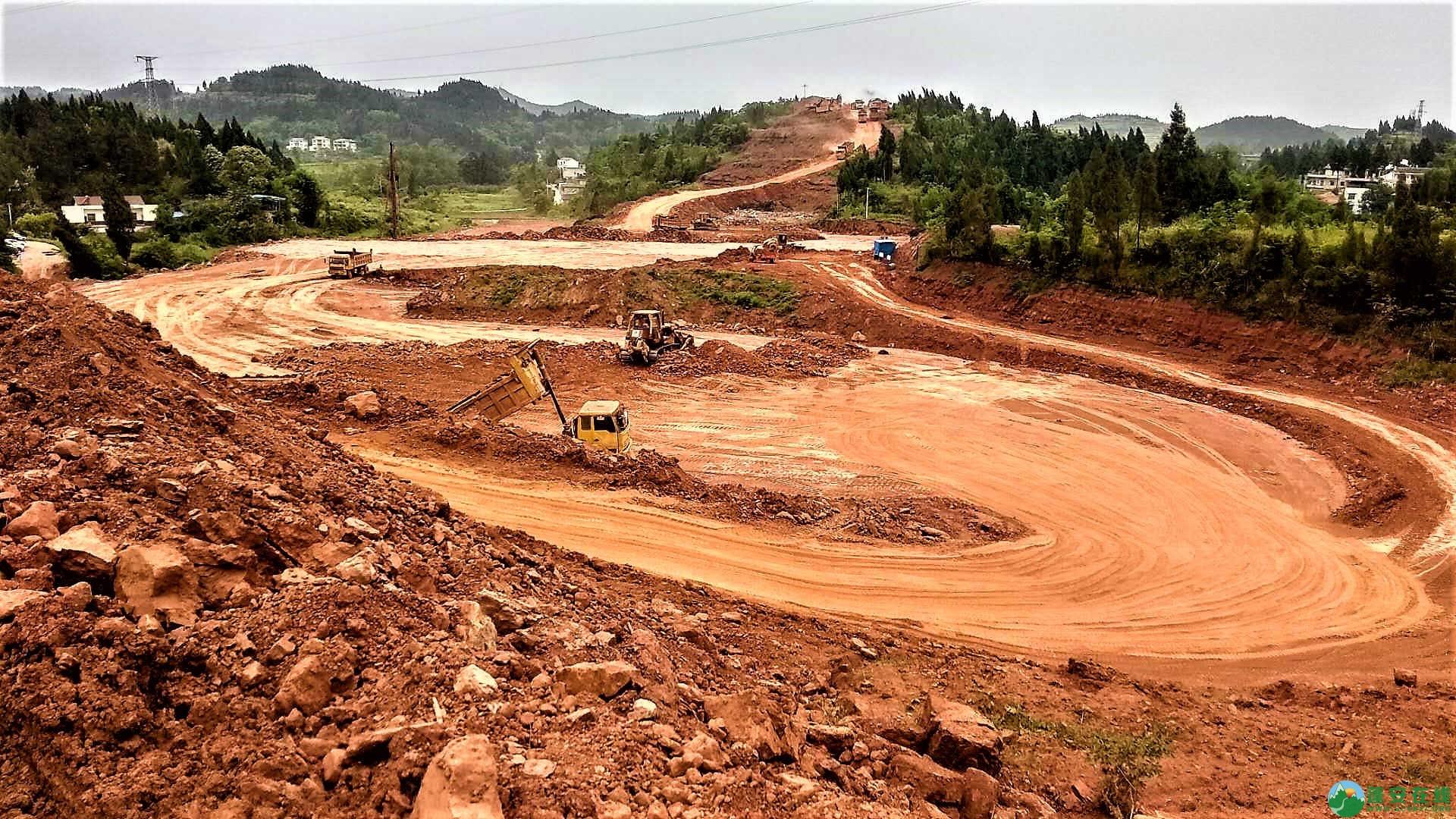 顺蓬营一级公路蓬安段最新进展(2019年05月28日) - 第14张  | 蓬安在线