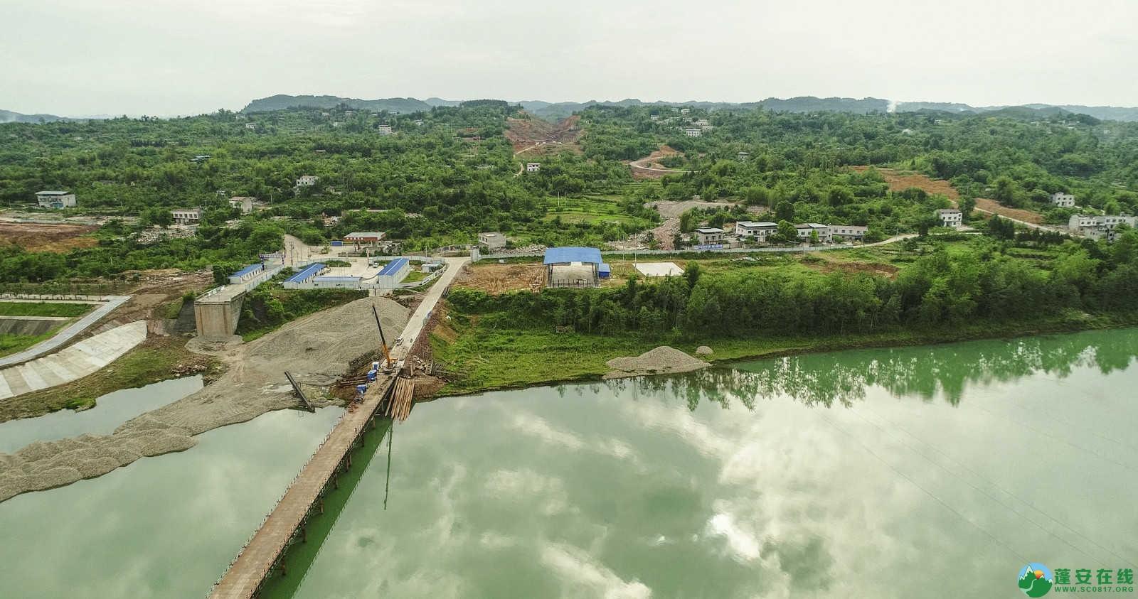 蓬安嘉陵江一桥修建进(2019年5月11日) - 第16张  | 蓬安在线