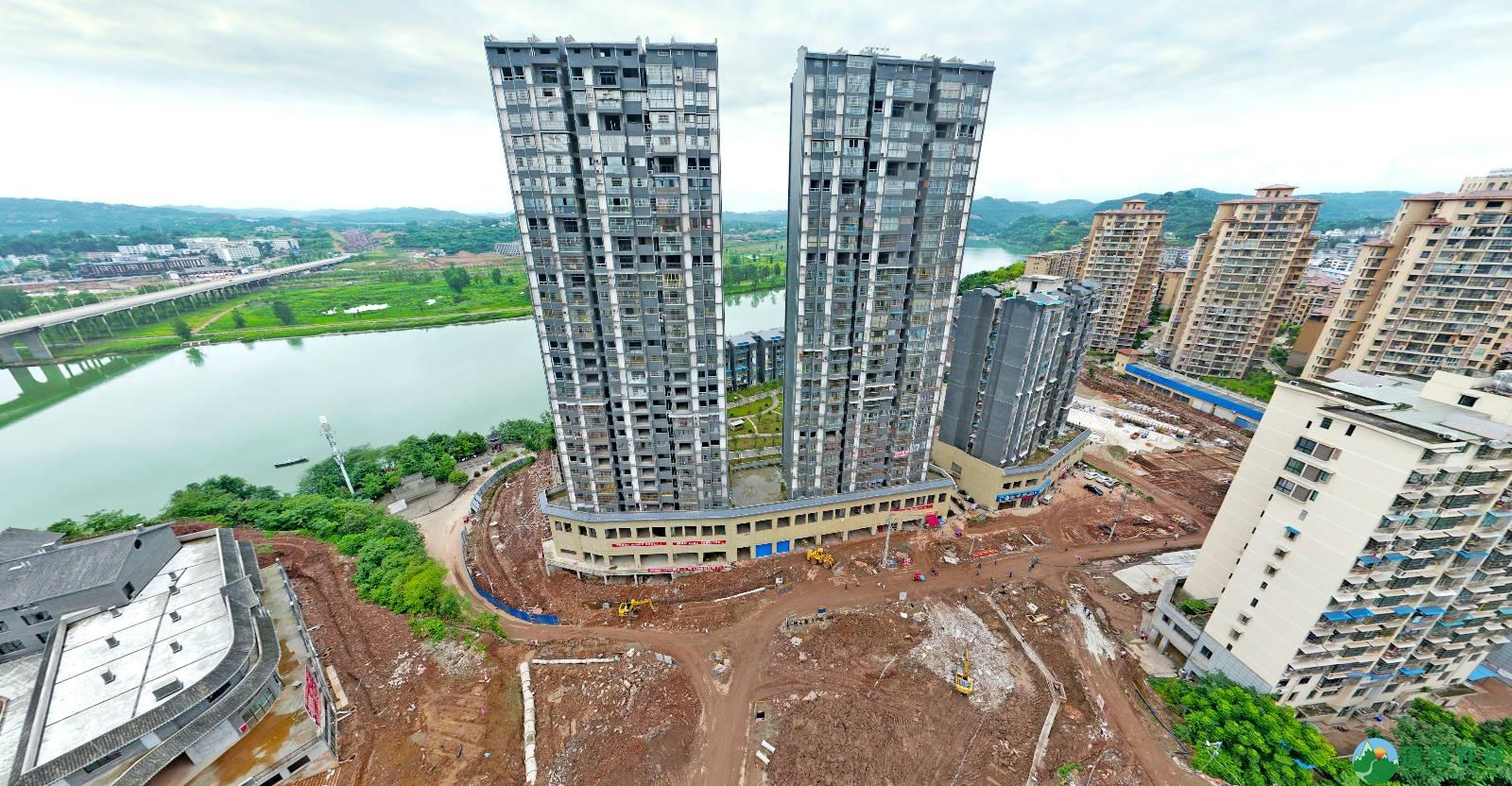 蓬安县嘉陵西路改建工程进展(2019-06-16) - 第4张  | 蓬安在线