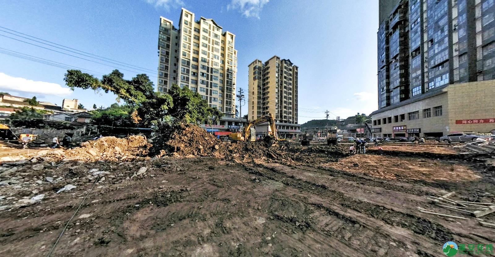 蓬安县嘉陵西路改建工程进展(2019-06-16) - 第5张  | 蓬安在线