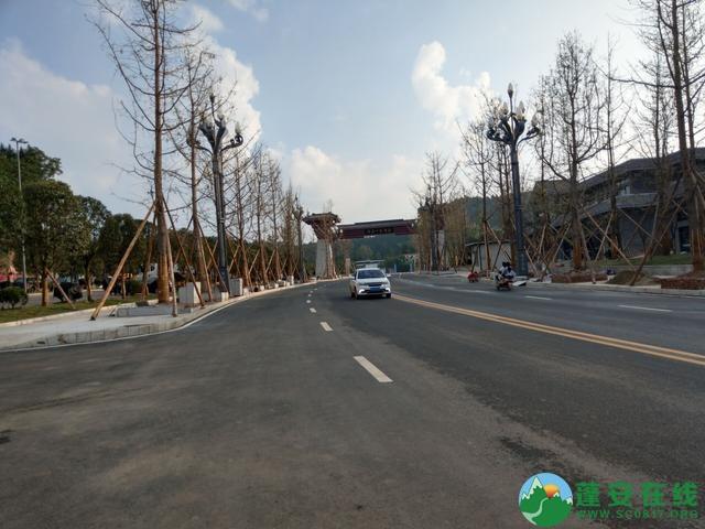 蓬安县嘉陵西路及棉麻路改扩接近尾声 - 第5张  | 蓬安在线