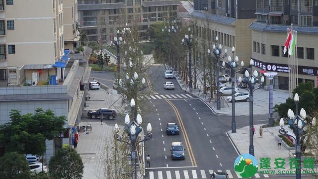 蓬安县嘉陵西路及棉麻路改扩接近尾声 - 第14张  | 蓬安在线