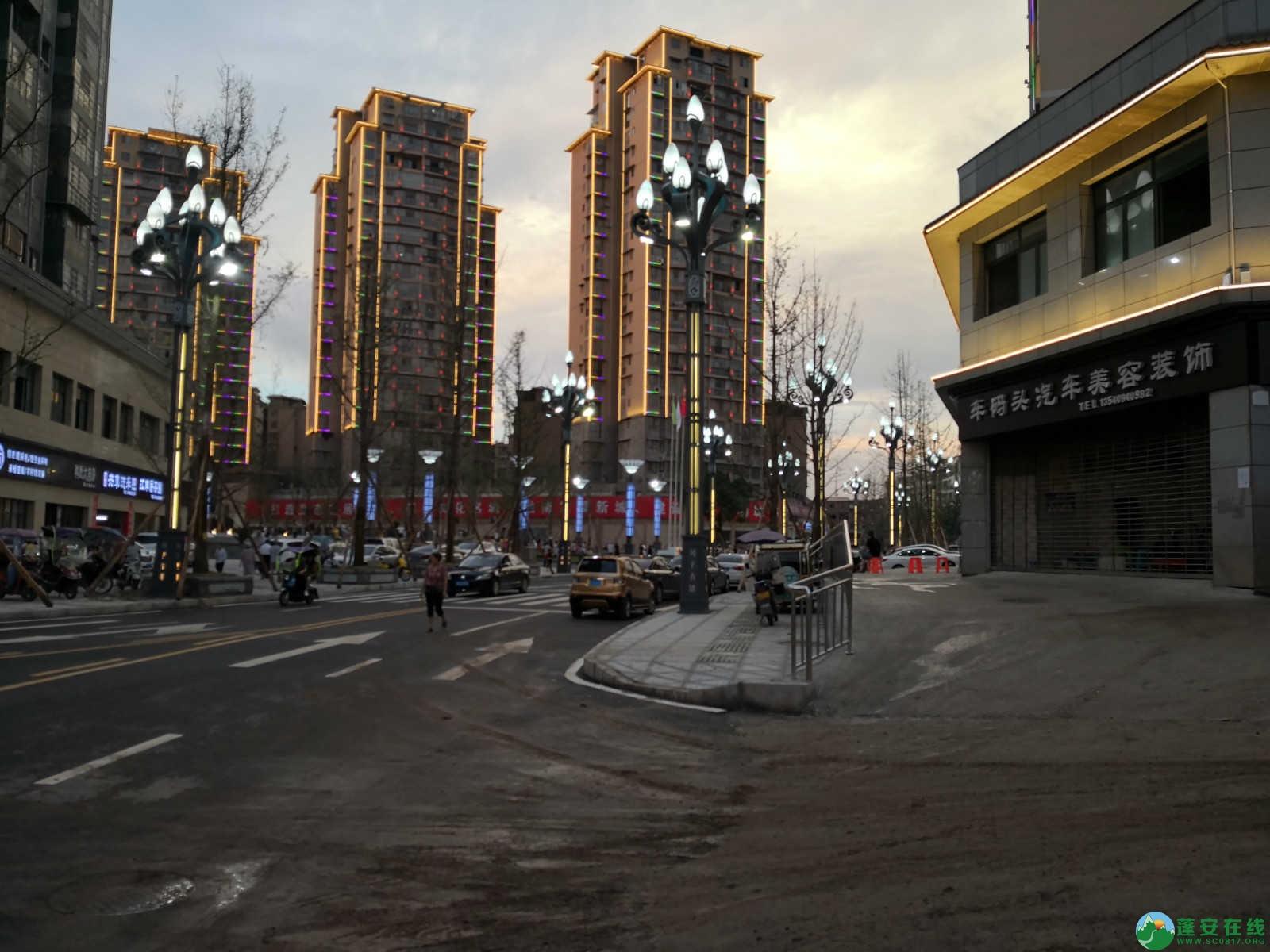 蓬安嘉陵第一桑梓棉麻路新城新貌 - 第2张  | 蓬安在线