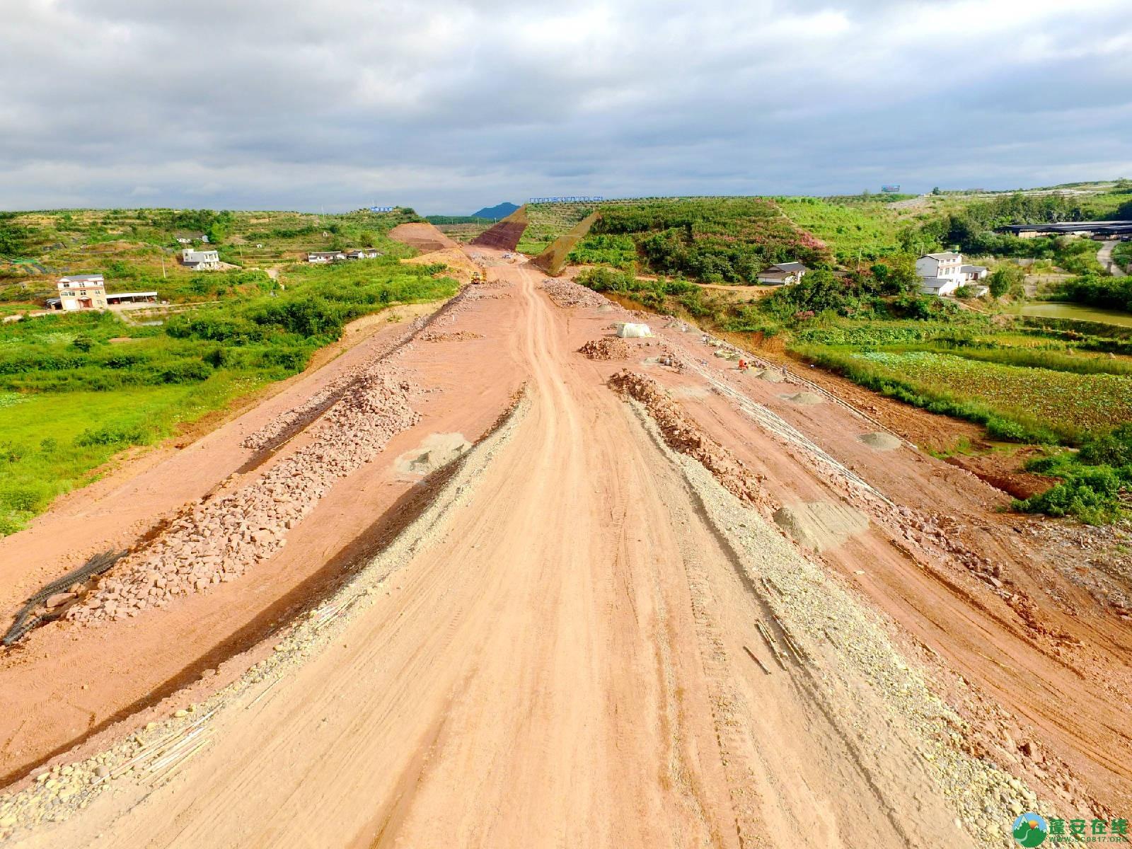 顺蓬营一级公路蓬安段、青云大道二期道路最新进展(2019.8.29) - 第6张  | 蓬安在线