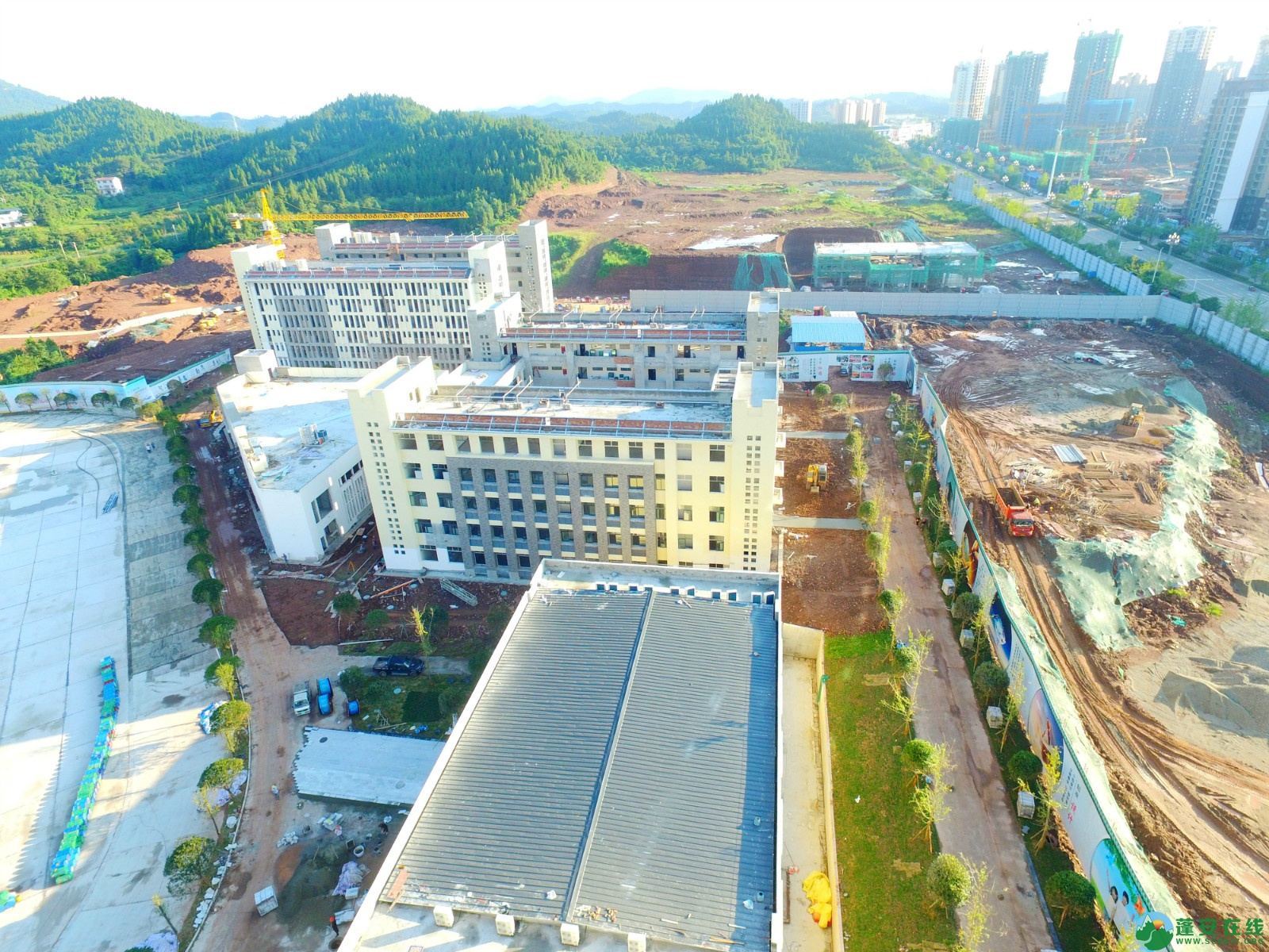 西南大学南充实验中学蓬安校区(2019年08月07) - 第4张  | 蓬安在线
