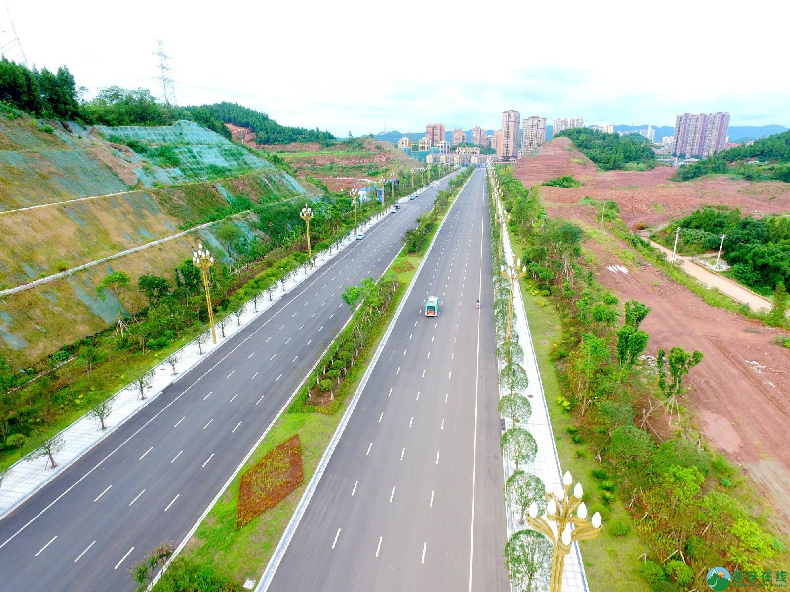 顺蓬营一级公路蓬安段、青云大道二期道路最新进展(2019.8.29) - 第13张  | 蓬安在线