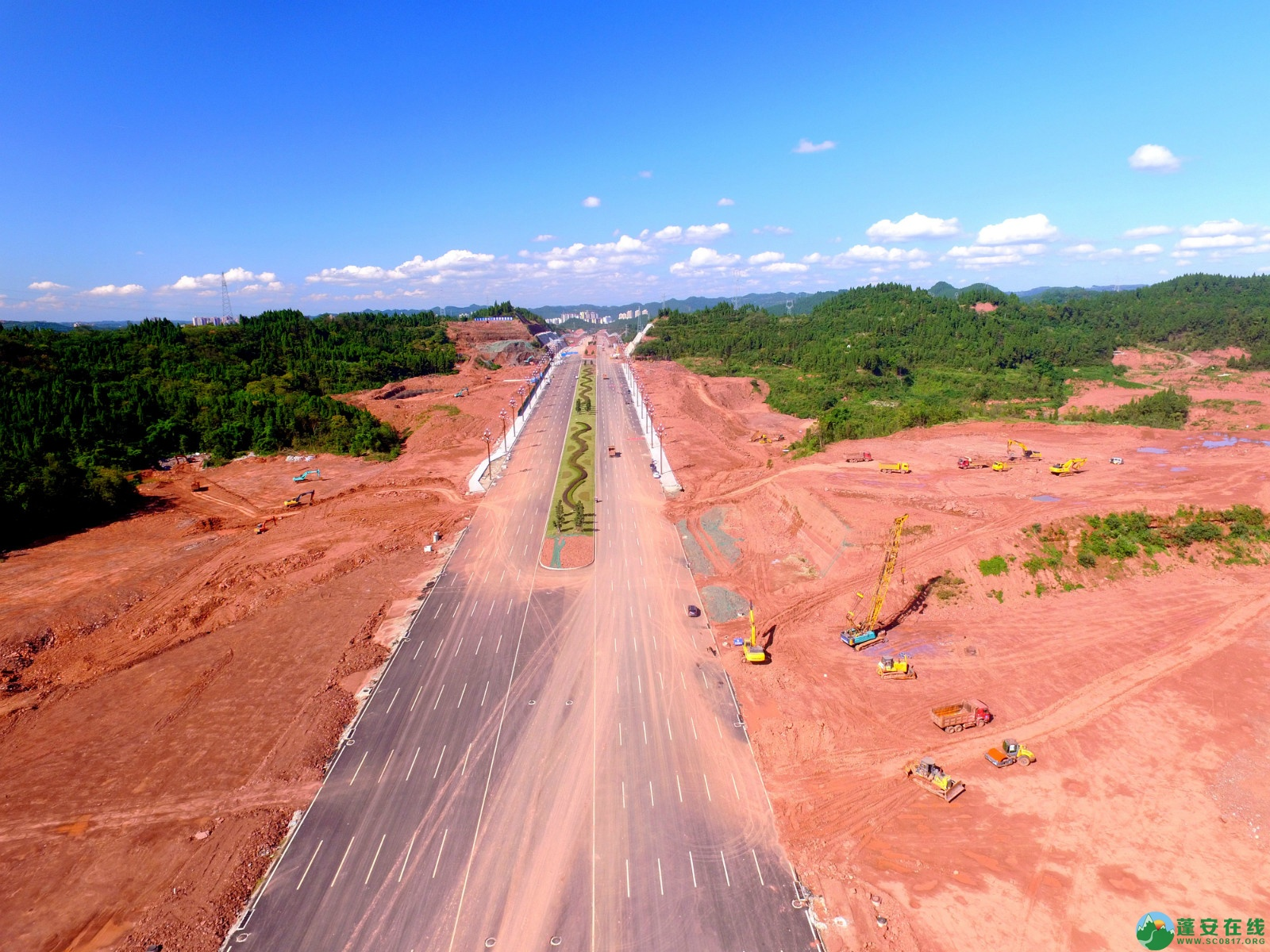 蓬安县燕山大道最新进展(2019.10.17) - 第3张  | 蓬安在线