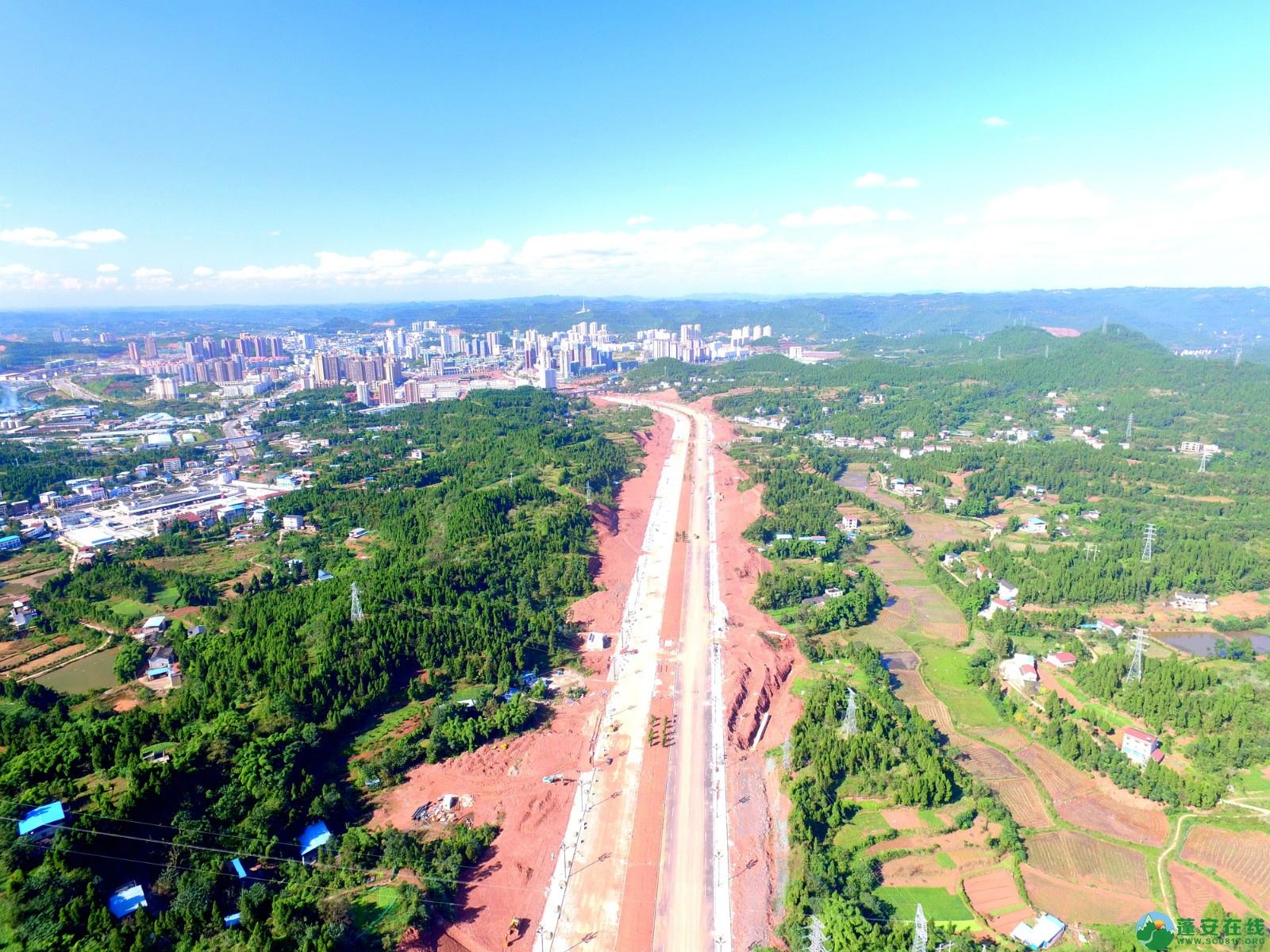 蓬安县燕山大道最新进展(2019.10.17) - 第5张  | 蓬安在线