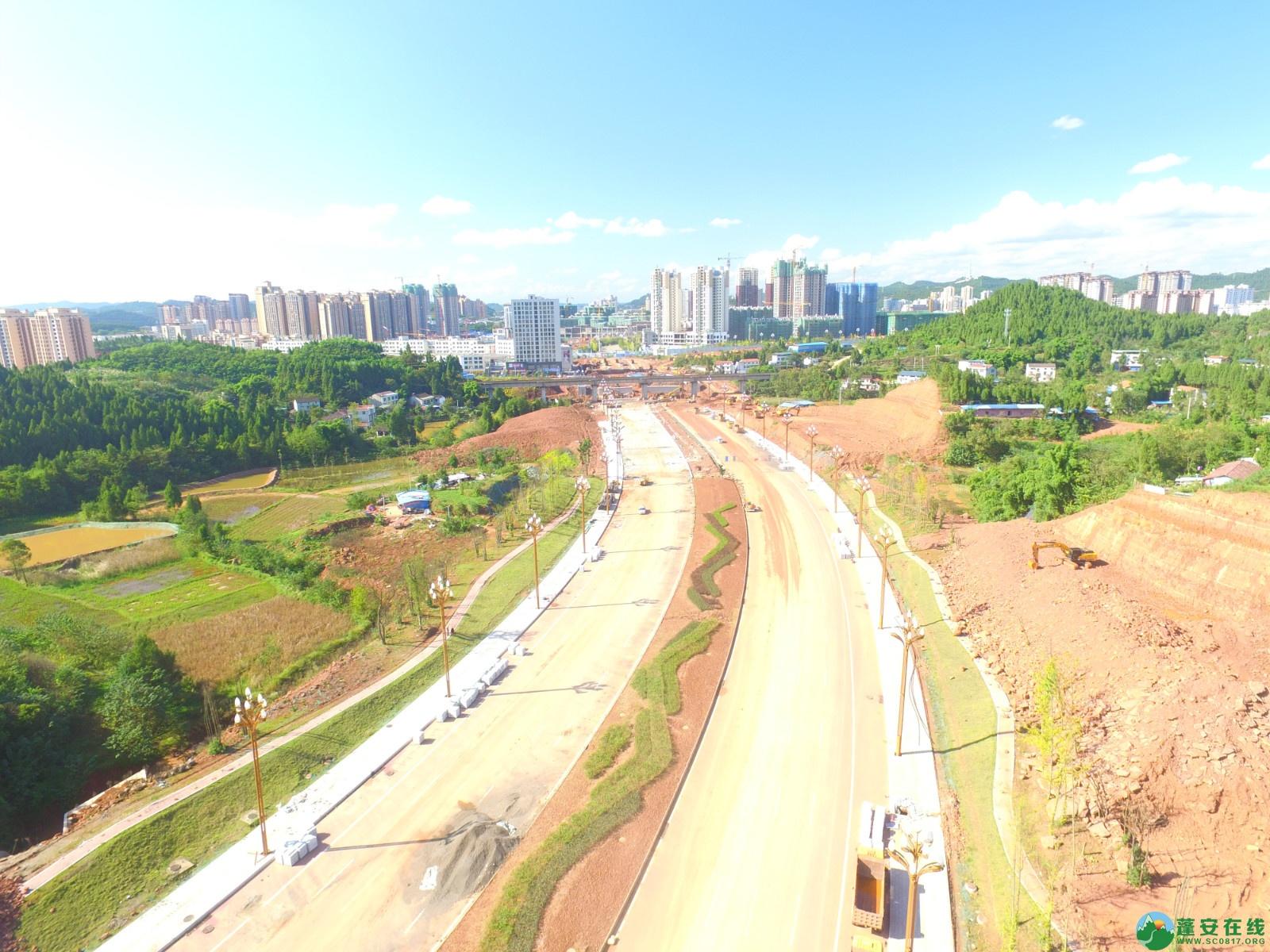 蓬安县燕山大道最新进展(2019.10.17) - 第6张  | 蓬安在线