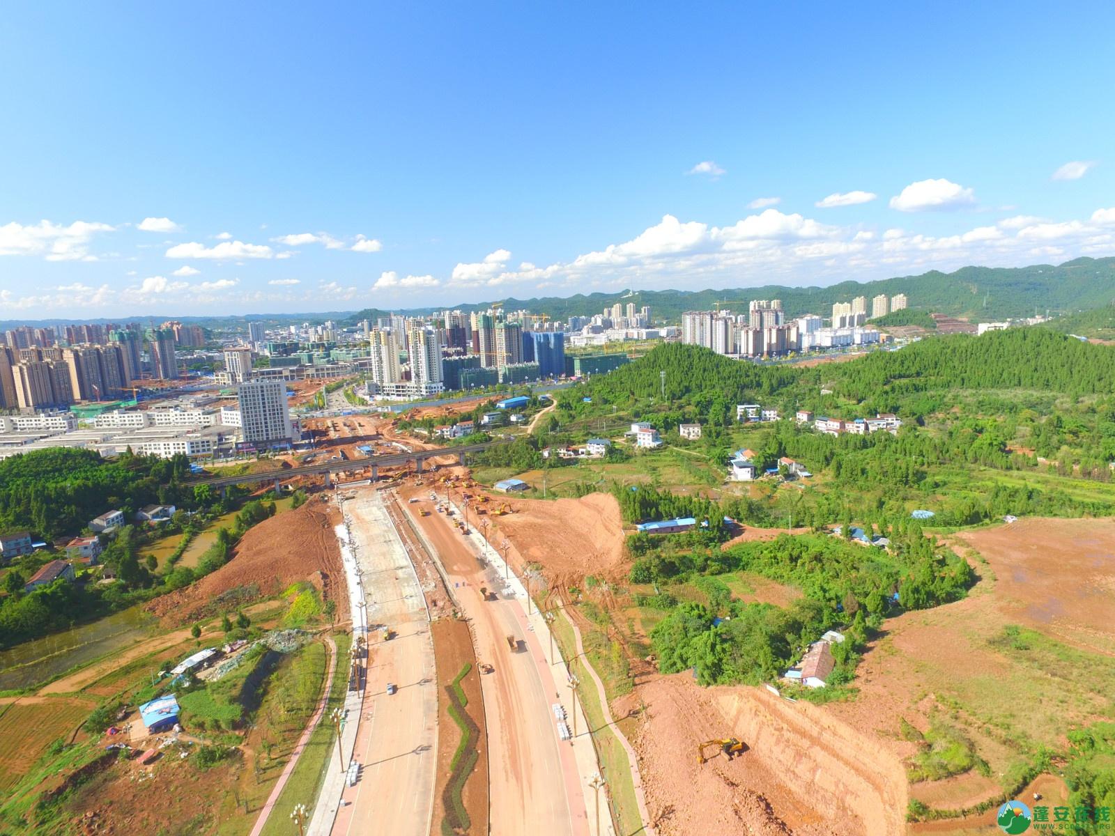 蓬安县燕山大道最新进展(2019.10.17) - 第7张  | 蓬安在线