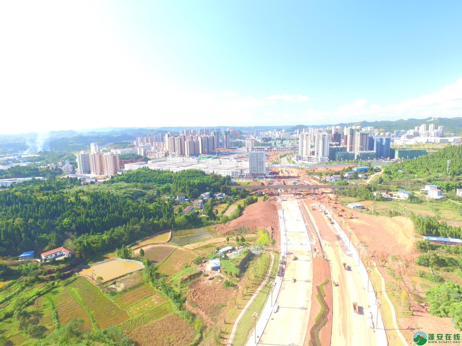 蓬安县燕山大道最新进展(2019.10.17) - 第8张  | 蓬安在线