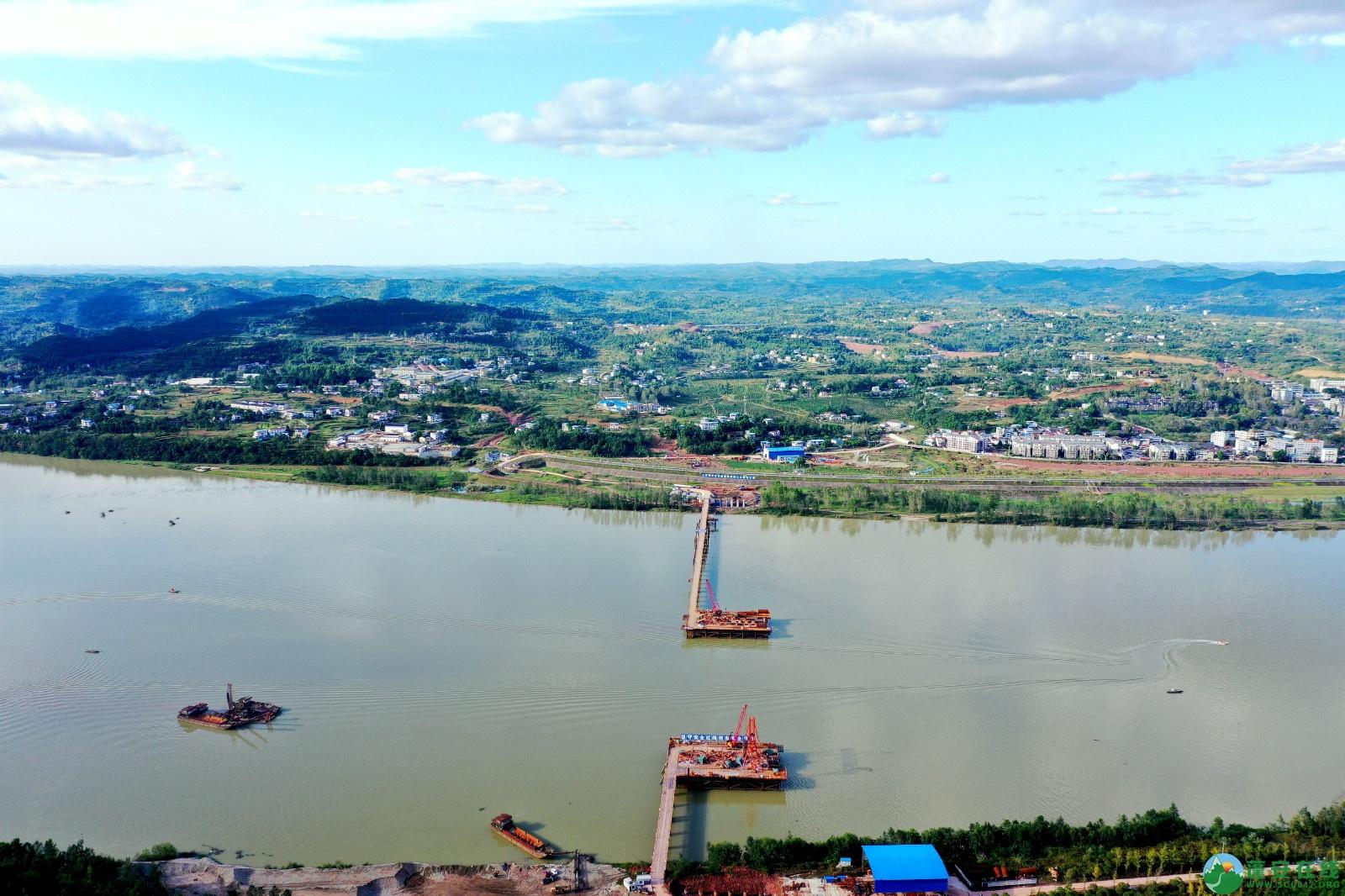 蓬安县顺蓬营一级公路最新进展(2019.10.16) - 第1张  | 蓬安在线