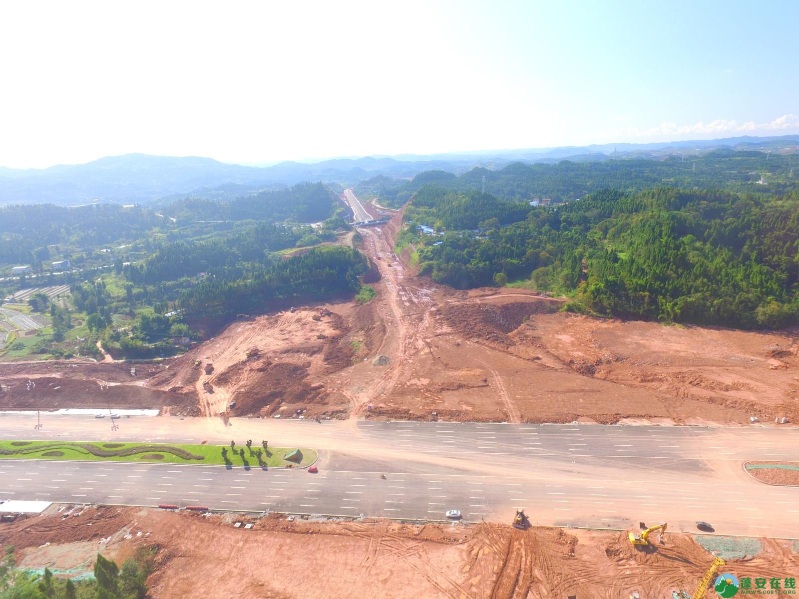 蓬安县燕山大道最新进展(2019.10.17) - 第10张  | 蓬安在线