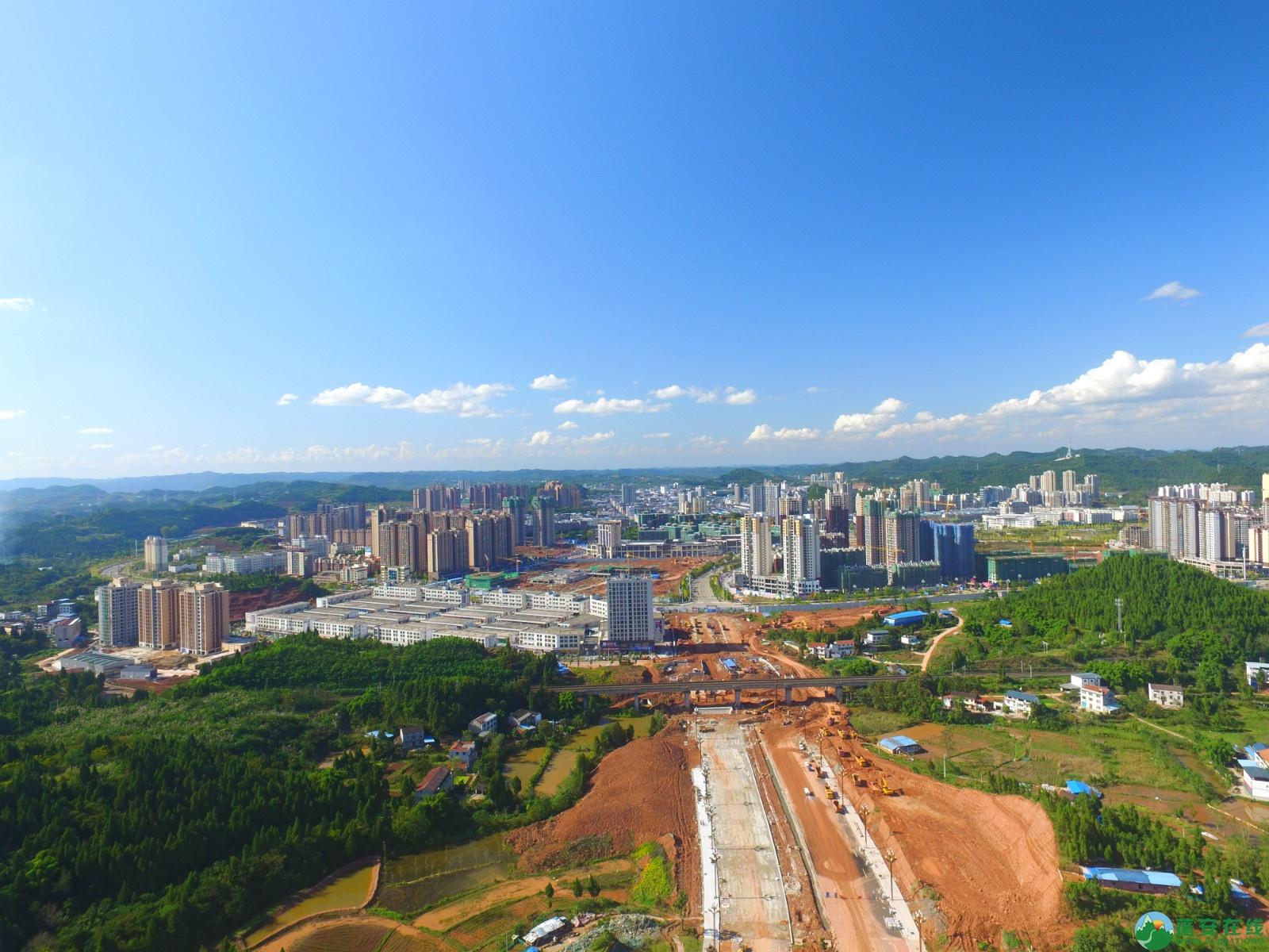 蓬安县燕山大道最新进展(2019.10.17) - 第13张  | 蓬安在线