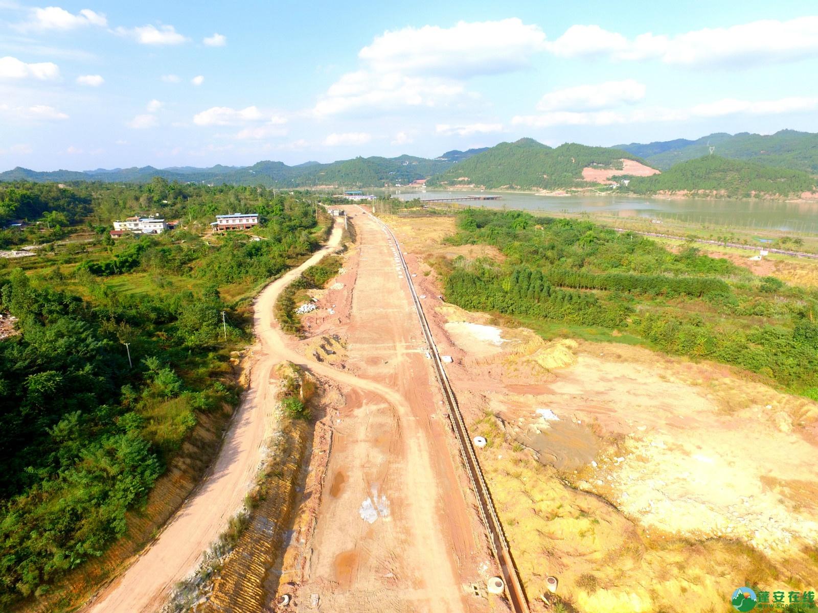 蓬安县锦屏新区干一道最新进展(2019.10.19) - 第3张  | 蓬安在线