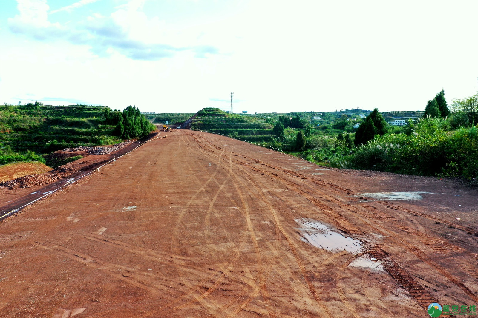 蓬安县顺蓬营一级公路最新进展(2019.10.16) - 第6张  | 蓬安在线