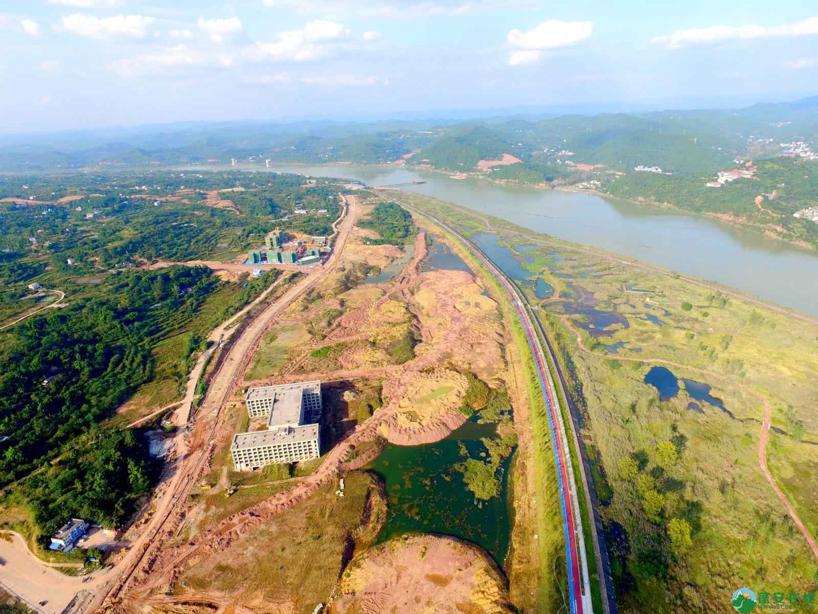 蓬安县锦屏新区干一道最新进展(2019.10.19) - 第8张  | 蓬安在线