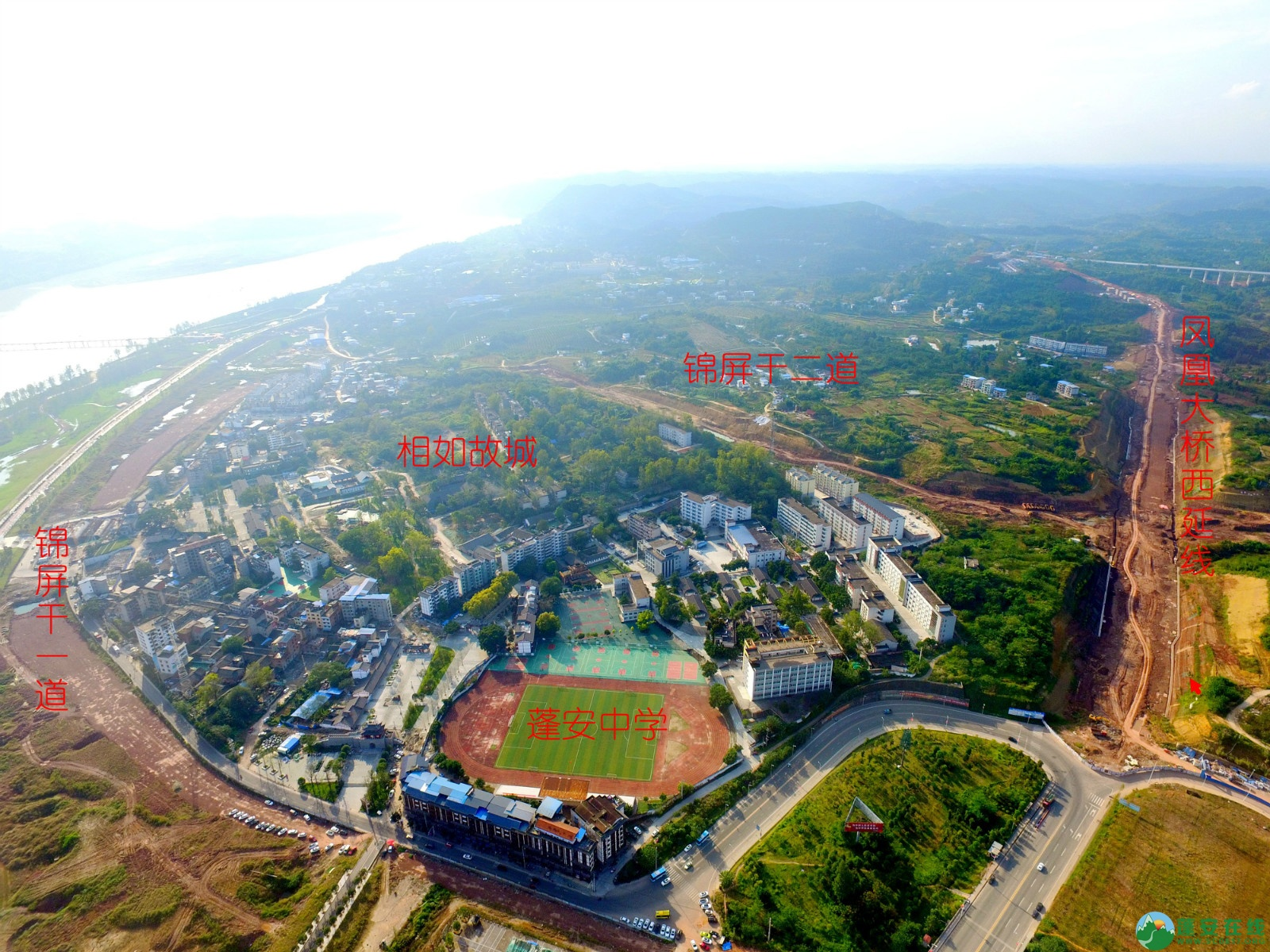 蓬安县锦屏新区干一道最新进展(2019.10.19) - 第11张  | 蓬安在线