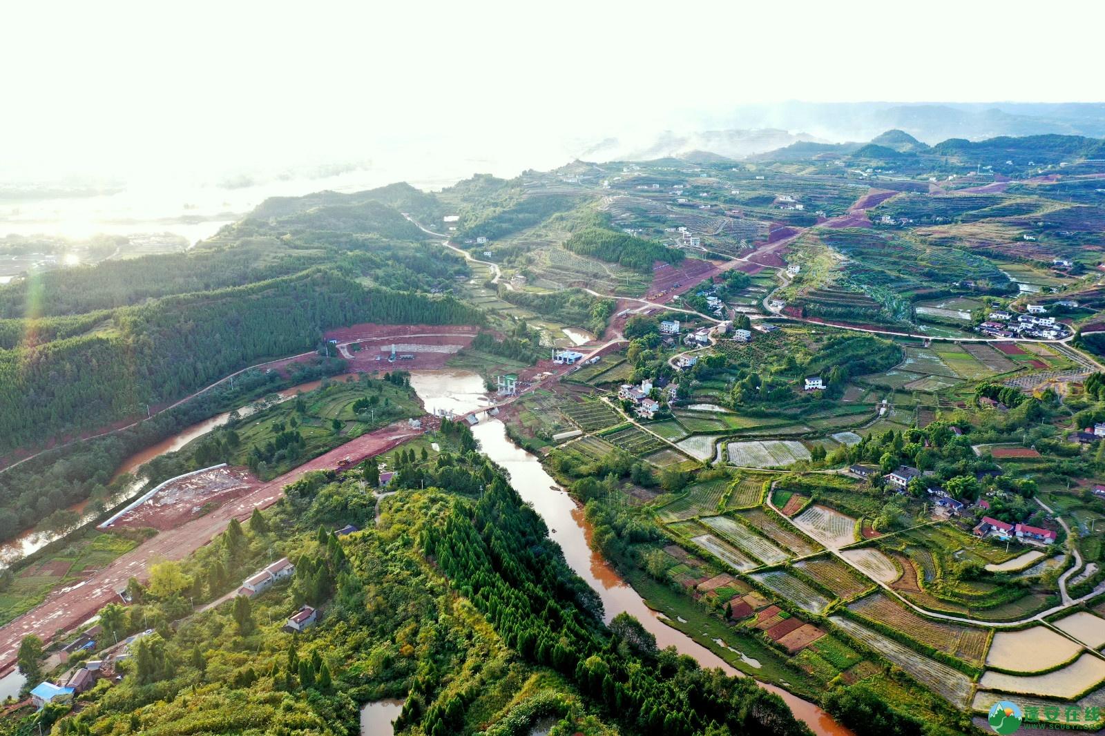 蓬安县顺蓬营一级公路最新进展(2019.10.16) - 第14张  | 蓬安在线