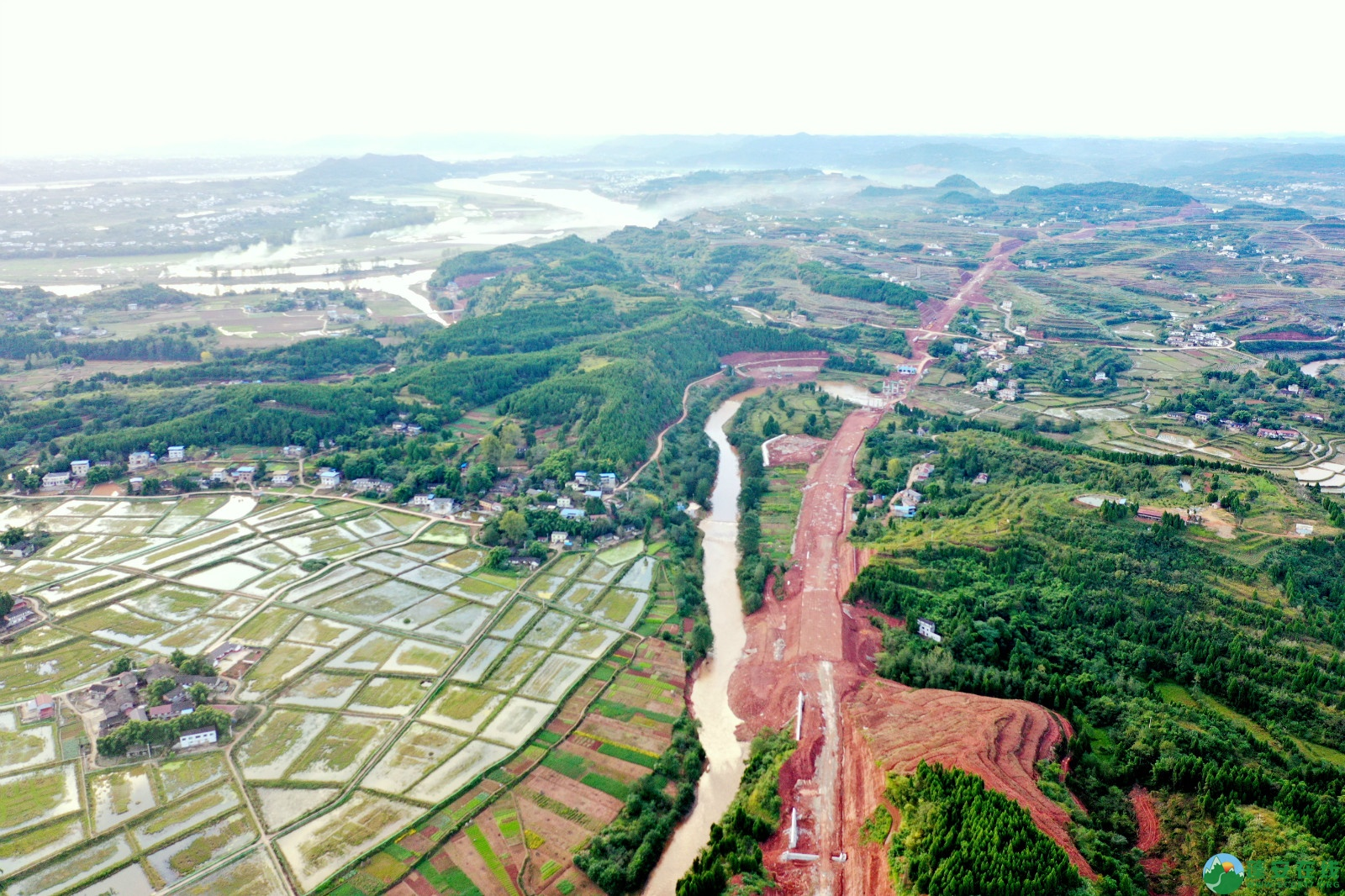 蓬安县顺蓬营一级公路最新进展(2019.10.16) - 第18张  | 蓬安在线