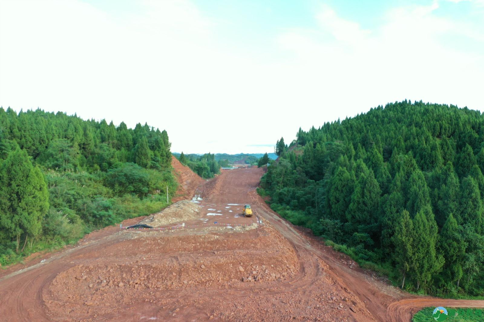 蓬安县顺蓬营一级公路最新进展(2019.10.16) - 第21张  | 蓬安在线
