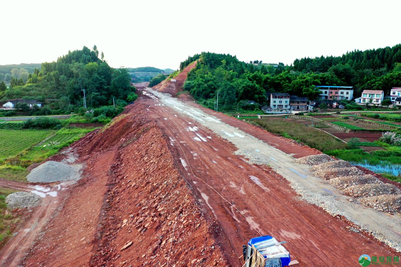 蓬安县顺蓬营一级公路最新进展(2019.10.16) - 第22张  | 蓬安在线