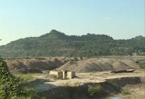 蓬安县锦屏镇万吨砂石堆放饮用水源地,被要求限期整改!