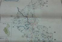 蓬州老地图