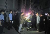 蓬安都市水乡凌晨突发火灾