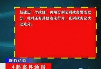 蓬安县金甲乡、新河乡、群乐乡乡领导违纪案件通报